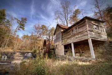 Old Mill in Northeast Georgia, USA