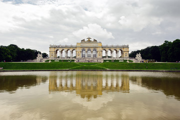 Gloriette monument at Schönbrunn Palace