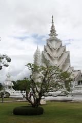 Wat Rong Khun near Chiang Rai