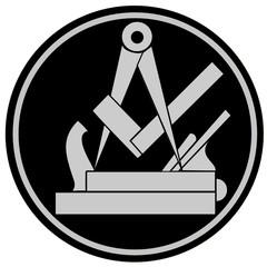 Handwerk- Zunftzeichen- Schreiner