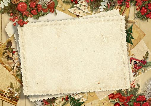 Holiday's greeting card