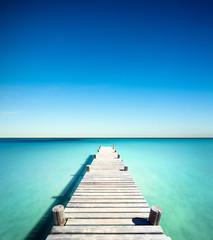 plage vacances ponton bois