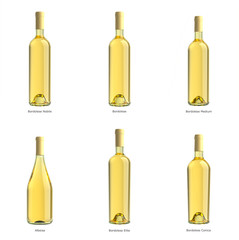 wine bianco bottle collection