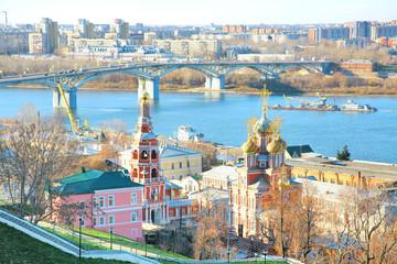 Stroganov Church in Nizhny Novgorod in Russia