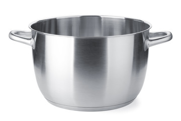 Stainless steel pot without cover