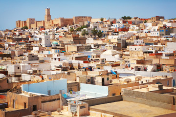 Poster de jardin Tunisie Medina in Sousse