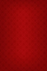 Snowflake patterned red background