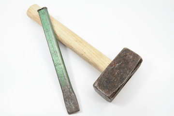 Hammer und Meißel
