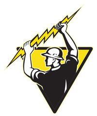 power lineman electrician repairman