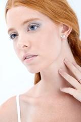 Natural redhead beauty