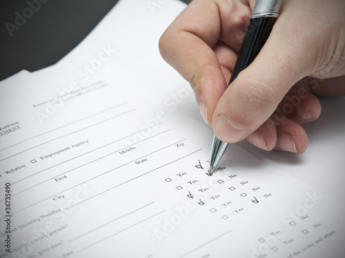 resume tips how to fill out a job application form