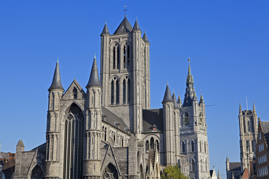 St. Nicholas' Church in Gent