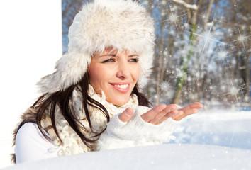 schnee freude