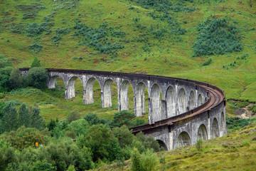 idyllic Glenfinnan Viaduct