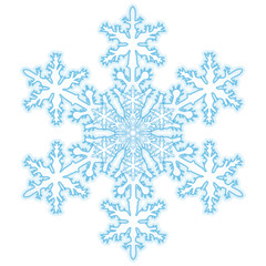 Schneekristall, Schneeflocke, Eisblume, Symbol