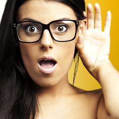 woman hearing