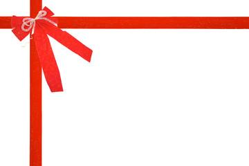 noeud de cadeau de noel ou anniversaire