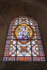 Photo sur Plexiglas Vitrail Chartres - Église Saint-Pierre