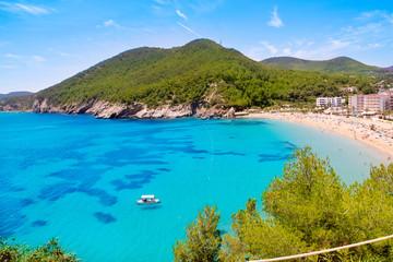 Fototapete - Ibiza Cala de Sant Vicent caleta de san vicente