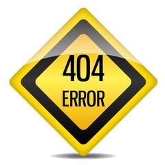 Achtung Warnung Schild 404 Error