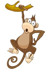 Cartoon Character Monkey