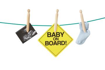 Having baby concept