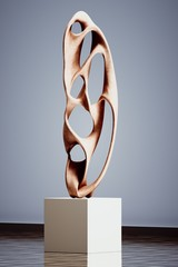 Sculpture moderne