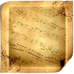 Vintage musical background