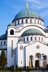 Orthodox Cathedral of Saint Sava in Belgrade, Serbia