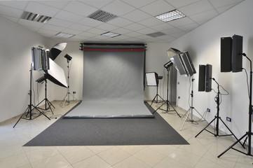 Sala di posa fotografica