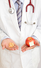 Apple or medicine, your choice!