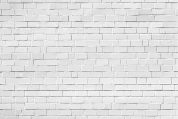 weiße ziegelstein wand horizontal