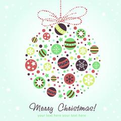 Stylized design Christmas decoration