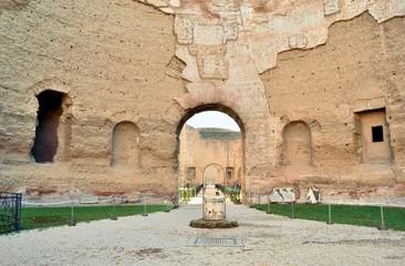 Pozzo del peristilio - Terme di Caracalla