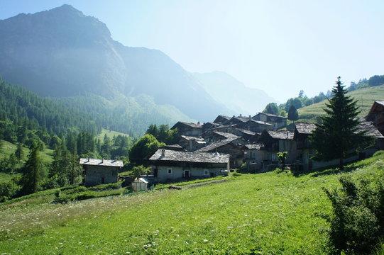 Valle Varaita, Italien, Valle Varaita Varaitatal, Alpen
