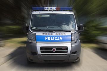 Fototapeta police