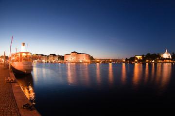 Bay in the Stockholm