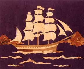 Application: the ship
