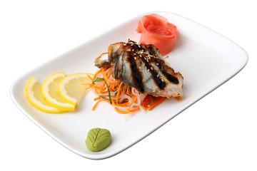 sashimi unagi