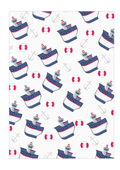 happy boat pattern
