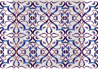 Seamless pattern in mosque  geometry style
