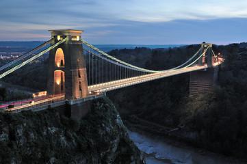 Canvas Prints Bridge Clifton suspension bridge