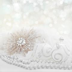 white christmas holiday background