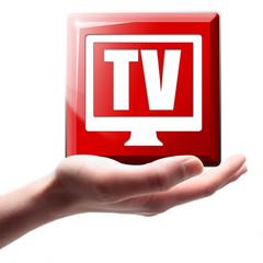 TV Button, Icon
