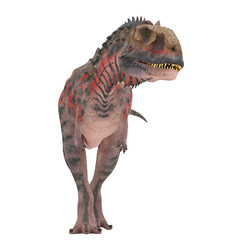 red majungasaurus stand up