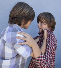 kids fighting bullying each other