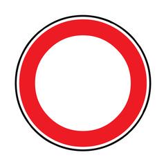 Papier Peint - Verkehrsschild - 250 Verbot für Fahrzeuge