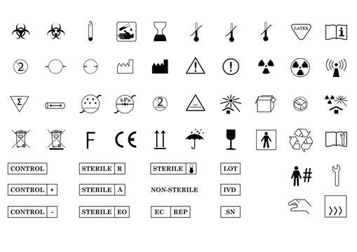 International Medical Package Symbols