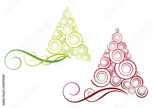 Alberi Di Natale Stilizzati Immagini E Vettoriali Royalty Free Su