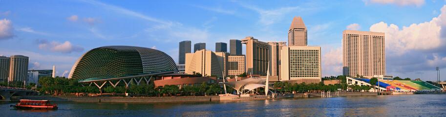 Foto op Plexiglas Singapore panorama of cityscape skyscraper in Singapore
